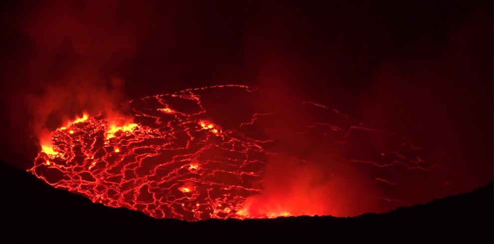 Nyiragongo volcano hiking Image