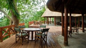 Virunga National Park Congo Mikeno Lodge Double self contained room