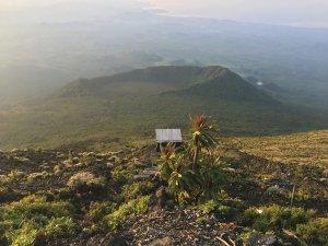 Virunga National Park Congo Nyiragongo Summit View