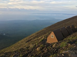 Nyiragongo Summit Shelter