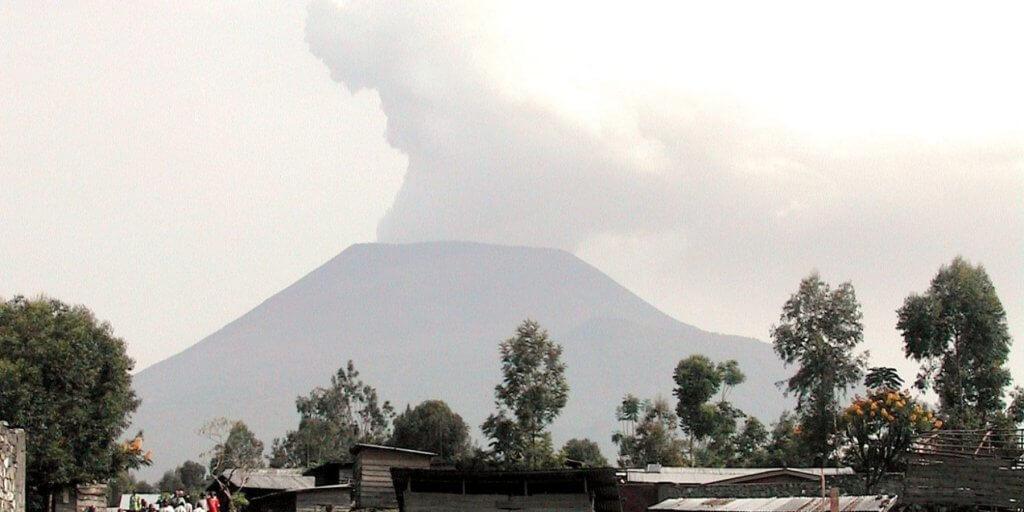 Nyiragongo Congo's volcano,