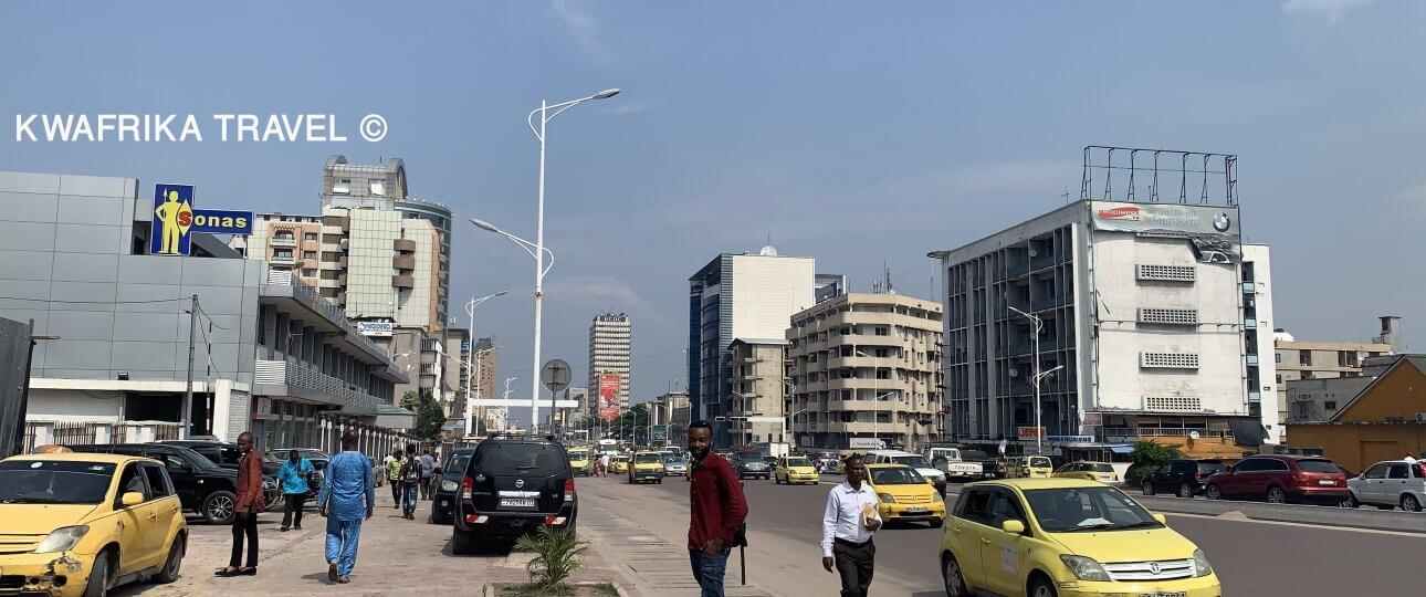 Boulevard du 30 Juin, Kinshasa Goma