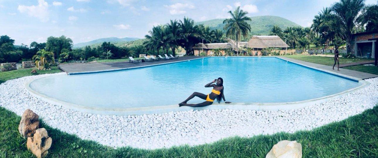 Swimming pool, Parc de la vallée de N'sele