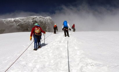 Congo's Rwenzori Mountain hiking Alpinism