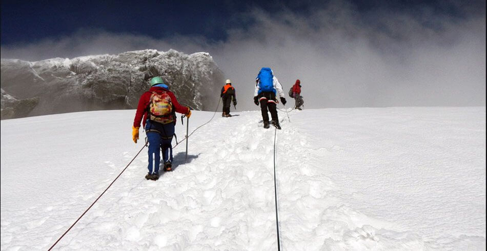 Congo's Rwenzori Mountain hiking Alpinism
