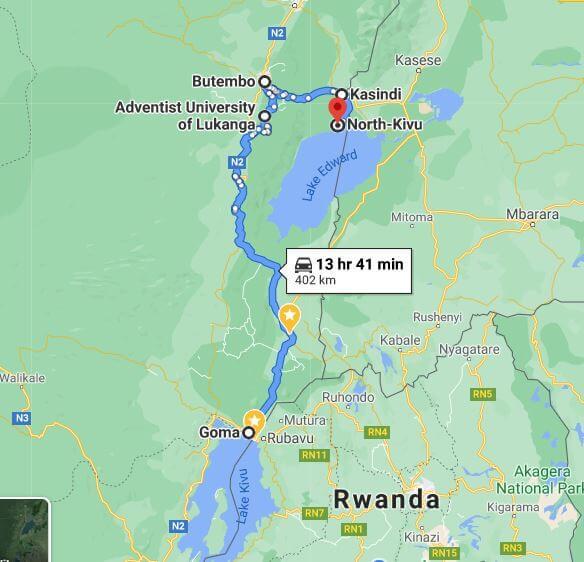 Visite du Nord Kivu